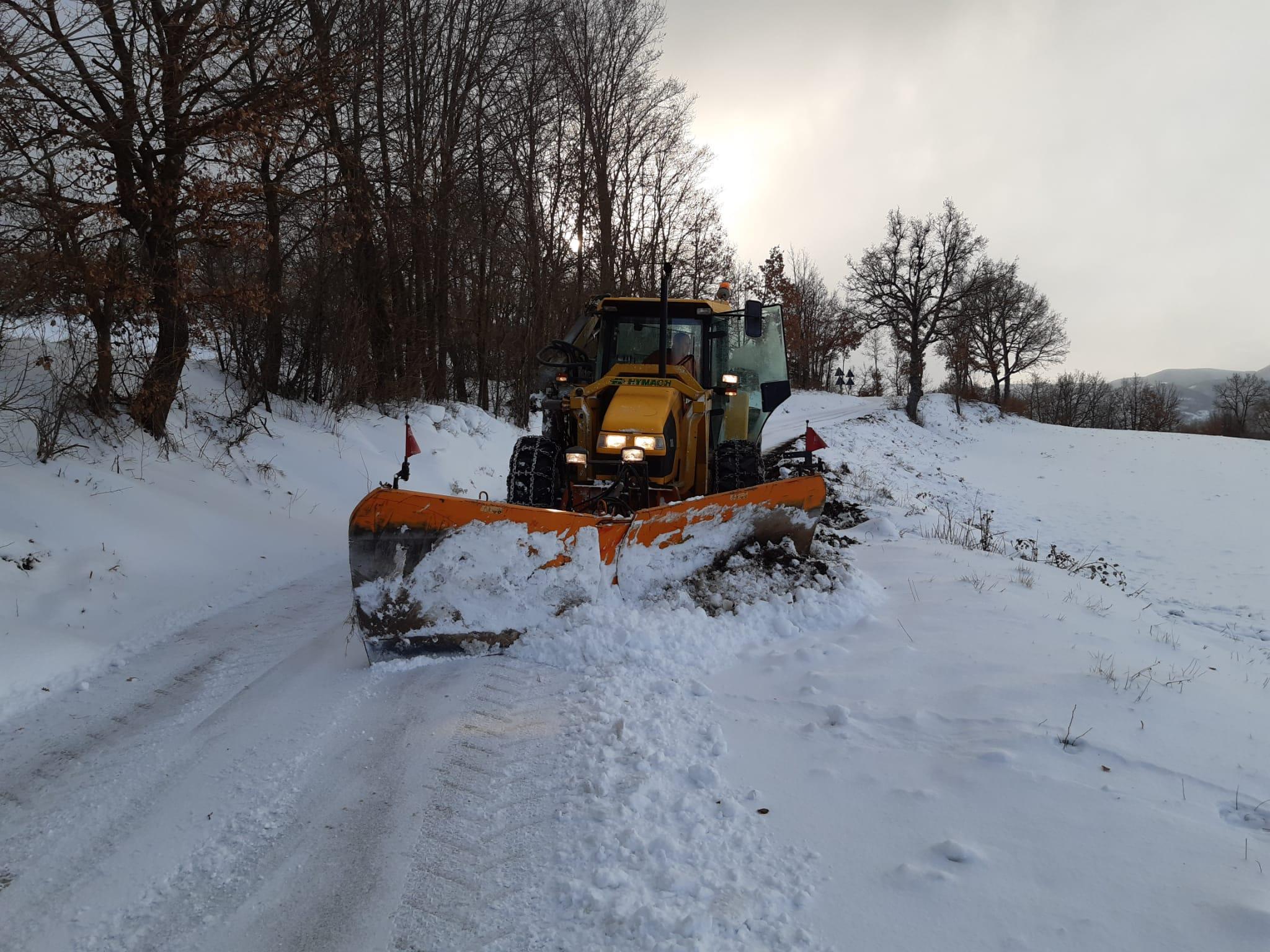 Viabilità – Neve, situazione sotto controllo sulle strade provinciali