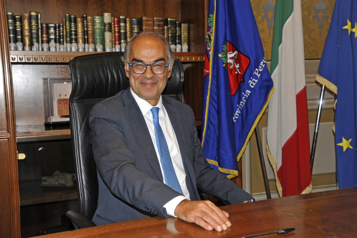 Il Presidente della Provincia Luciano Bacchetta si congratula con Fabrizio Curcio chiamato alla guida della Protezione civile e ringrazia Angelo Borrelli per il lavoro svolto in questi anni