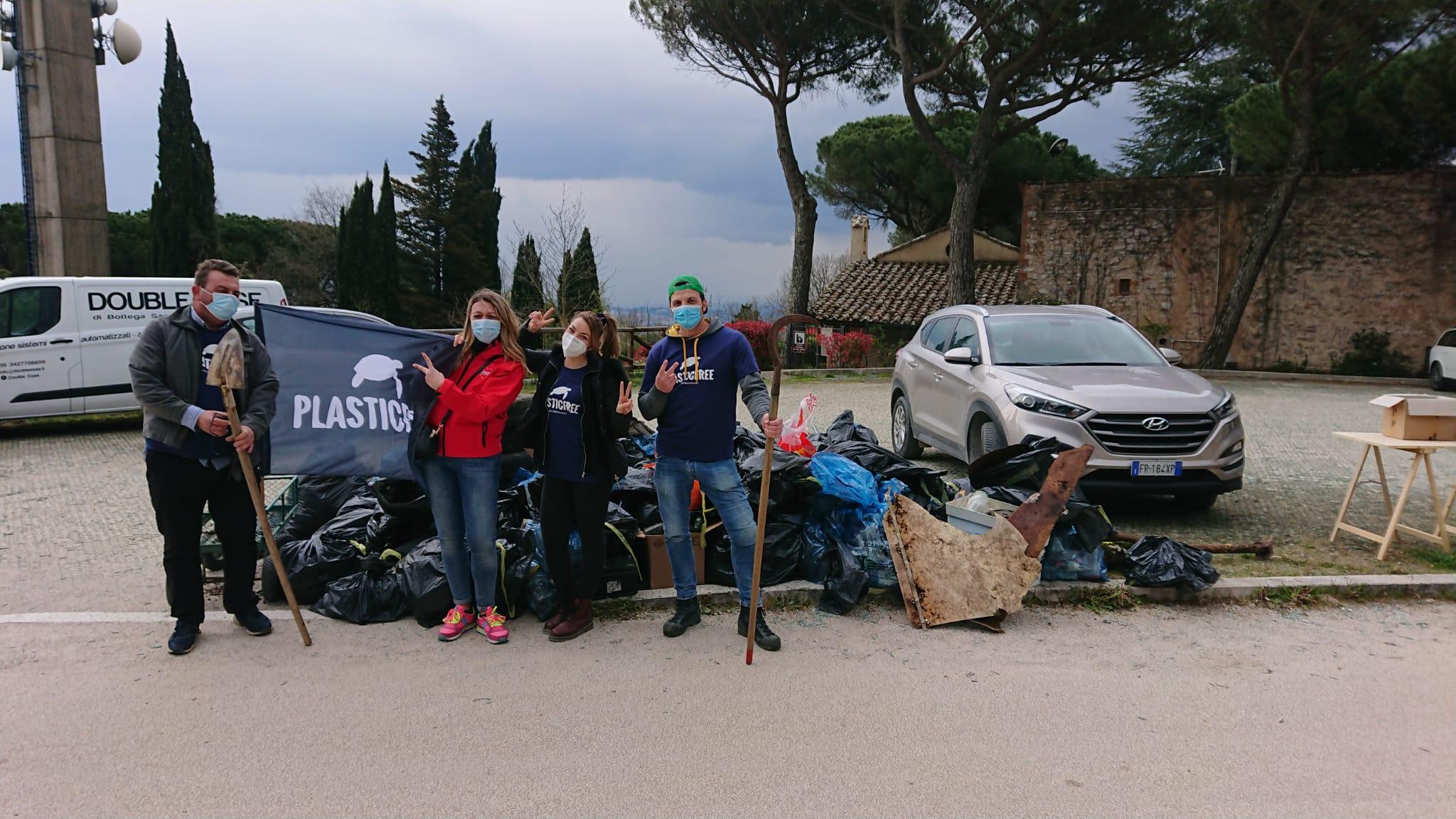 Plastic Free Onlus – Oltre 170 mila chili di rifiuti e 15 mila persone impegnate nella raccolta
