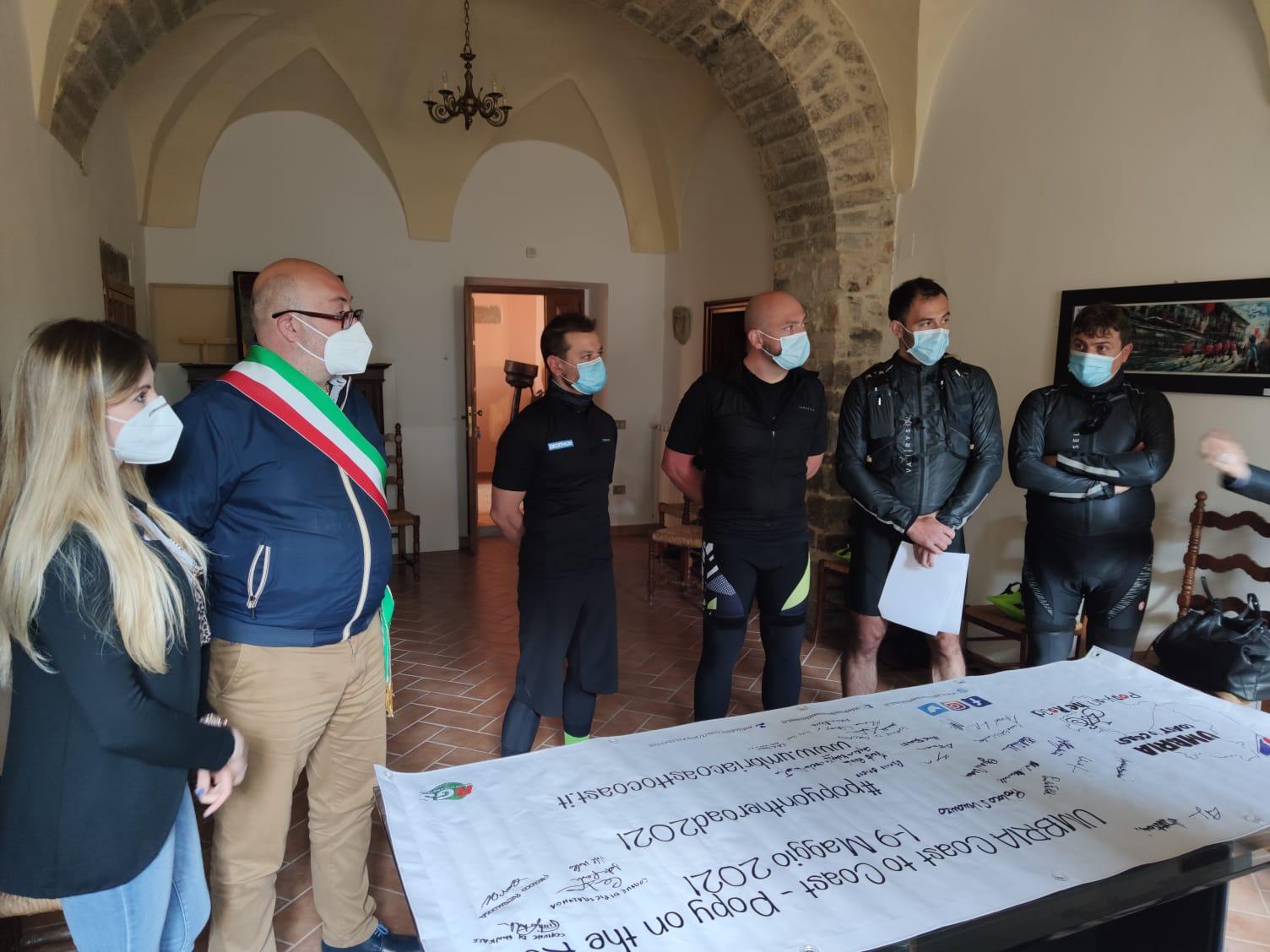 """""""Umbria Coast to Coast"""" – Anche il Comune di Pietralunga firma il progetto"""