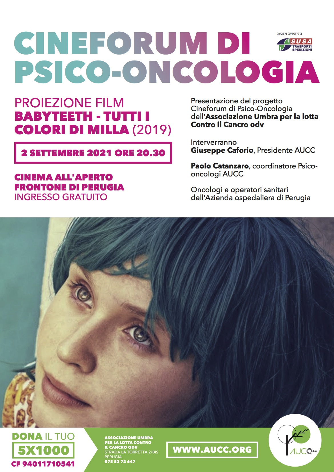 Sociale – Aucc presenta il progetto terapeutico Cineforum di psico-oncologia