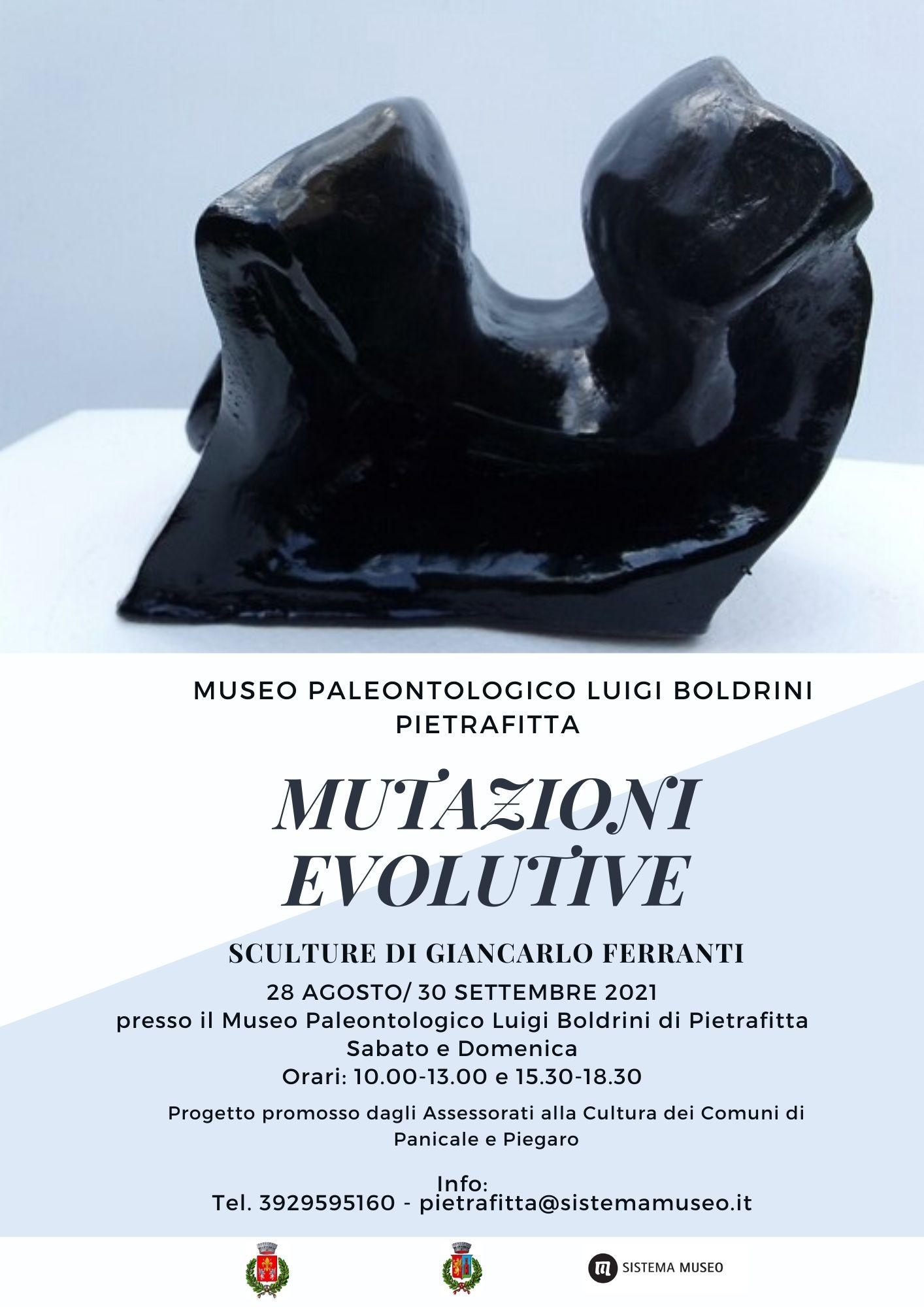 Scultura, al Museo paleontologico otto terrecotte di Giancarlo Ferranti